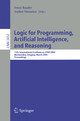 Logic for Programming, Artificial Intelligence, and Reasoning - Franz Baader; Andrei Voronkov
