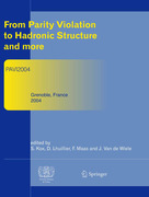 From Parity Violation to Hadronic Structure and more