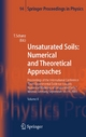 Unsaturated Soils: Numerical and Theoretical Approaches - Tom Schanz