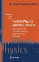 Particle Physics and the Universe - Josip Trampeti?;  Josip Trampetic;  Julius Wess;  Julius Wess