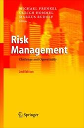Risk Management: Challenge and Opportunity - Hommel, Ulrich / Frenkel, Michael / Rudolf, Markus