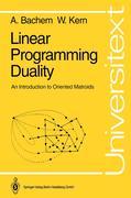 Bachem, Achim;Kern, Walter: Linear Programming Duality