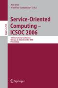 Service-Oriented Computing - ICSOC 2006