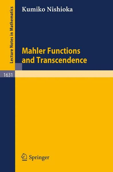 Mahler Functions and Transcendence