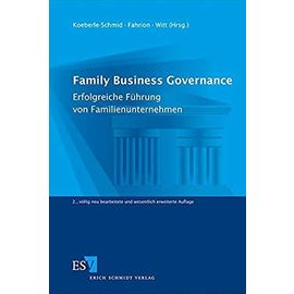 Family Business Governance - Collectif