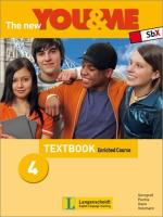 The new YOU & ME 4 Enriched Course Textbook