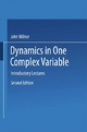 Dynamics in One Complex Variable - John Milnor