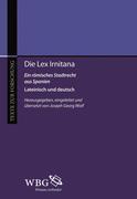Joseph Georg Wolf: Die Lex Irniterna