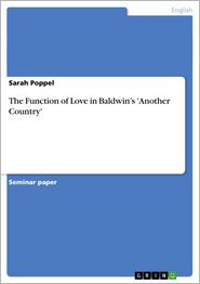 The Function of Love in Baldwin's 'Another Country' - Sarah Poppel