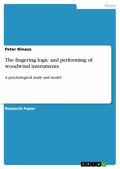 The fingering logic and performing of woodwind instruments - Ninaus, Peter