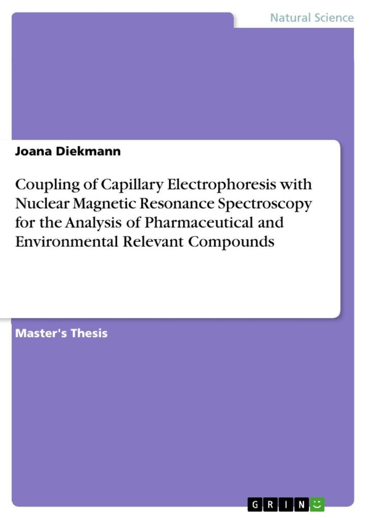 Coupling of Capillary Electrophoresis with Nuclear Magnetic Resonance Spectroscopy for the Analysis of Pharmaceutical and Environmental Relevant Compounds