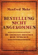 Mohr, Manfred: Bestellung nicht angekommen