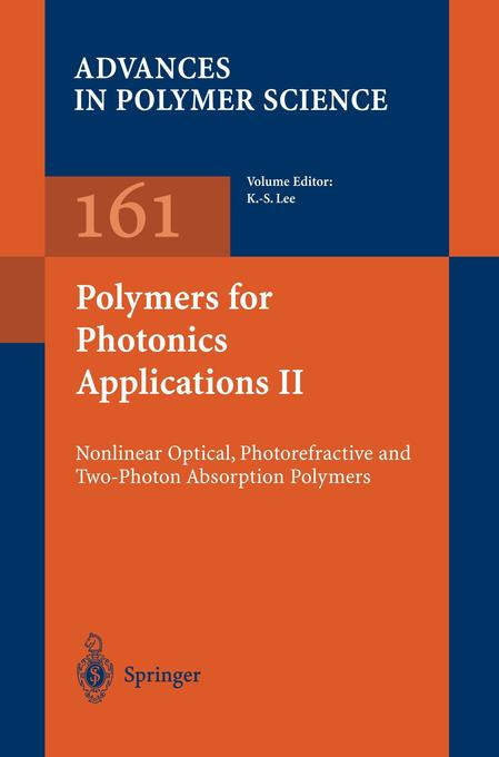 Polymers for Photonics Applications II als Buch von
