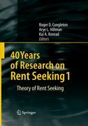 40 Years of Research on Rent Seeking 1