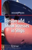 Torsion and Shear Stresses in Ships