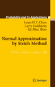 Normal Approximation by Stein's Method - Louis H.Y. Chen;  Larry Goldstein;  Qi-Man Shao