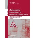 Mathematical Foundations of Computer Science 2010 - Petr Hlineny