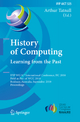 History of Computing: Learning from the Past - Arthur Tatnall