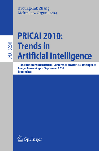 PRICAI 2010: Trends in Artificial Intelligence - Byoung-Tak Zhang