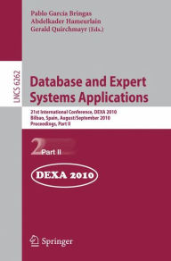 Database and Expert Systems Applications: 21st International Conference, DEXA 2010, Bilbao, Spain, August 30 - September 3, 2010, Proceedings, Part II