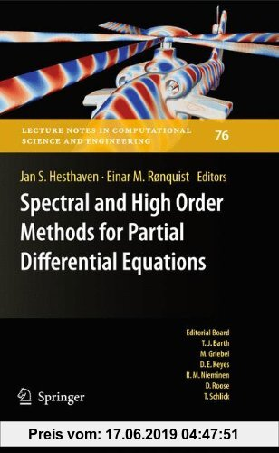 Gebr. - Spectral and High Order Methods for Partial Differential Equations: Selected papers from the ICOSAHOM '09 conference, June 22-26, Trondheim, N