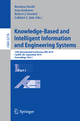 Knowledge-Based and Intelligent Information and Engineering Systems - Rossitza Setchi; Ivan Jordanov