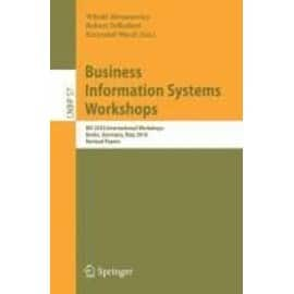 Business Information Systems Workshops - Collectif