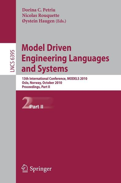 Model Driven Engineering Languages and Systems - Springer Berlin