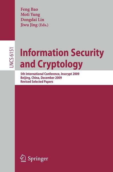 Information Security and Cryptology - Springer Berlin