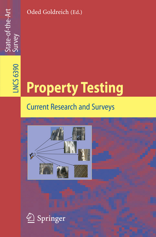 Property Testing - Oded Goldreich