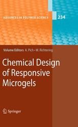 Chemical Design of Responsive Microgels - Andrij Pich; Walter Richtering