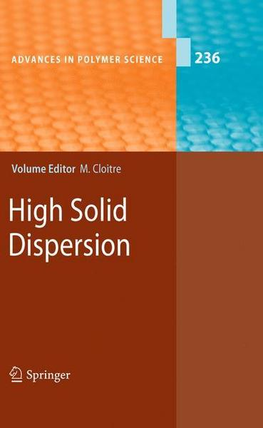 High Solid Dispersion