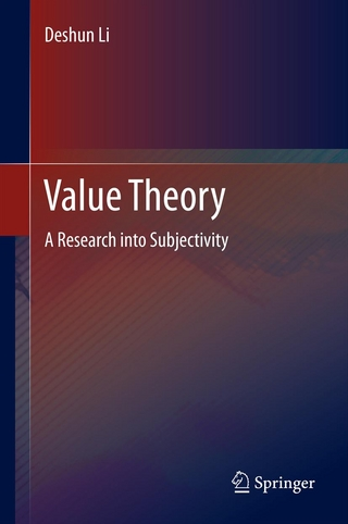 Value Theory - Deshun Li