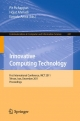 Innovative Computing Technology - Pit Pichappan; Hojat Ahmadi; Ezendu Ariwa