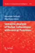 Semantic Analysis of Verbal Collocations with Lexical Functions