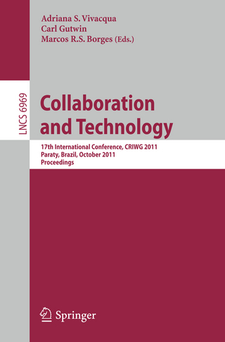 Collaboration and Technology - Adriana S. Vivacqua; Carl Gutwin; Marcos R.S. Borges