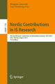 Nordic Contributions in IS Research - Margunn Aanestad; Tone Bratteteig