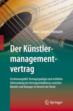 Der Künstlermanagementvertrag