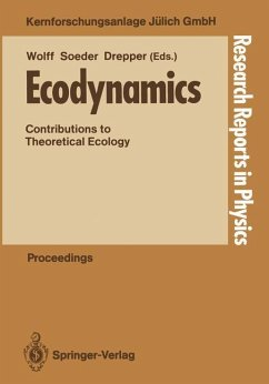 Ecodynamics: Contributions to Theoretical Ecology (Research Reports in Physics)