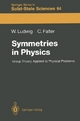 Symmetries in Physics - Wolfgang Ludwig; Claus Falter