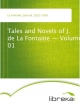 Tales and Novels of J. de La Fontaine - Volume 01 - Jean de La Fontaine