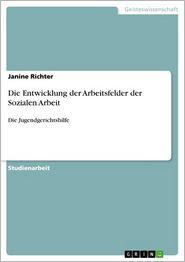 Die Entwicklung der Arbeitsfelder der Sozialen Arbeit: Die Jugendgerichtshilfe - Janine Richter