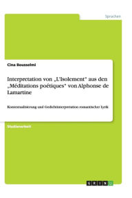 Interpretation von L'Isolement