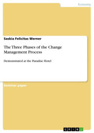 The Three Phases of the Change Management Process: Demonstrated at the Paradise Hotel - Saskia Felicitas Werner