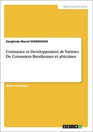 Croissance et Developpement de Varietes. De Cotonniers Bresiliennes et africaines