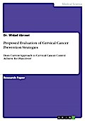 Proposed Evaluation of Cervical Cancer Prevention Strategies - Widad Akrawi