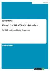Wandel Der Rvr Offentlichkeitsarbeit - David Hanio