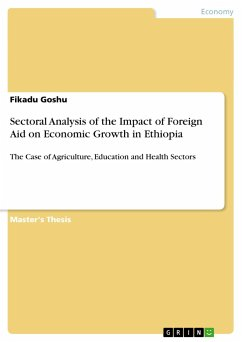 Sectoral Analysis of the Impact of Foreign Aid on Economic Growth in Ethiopia