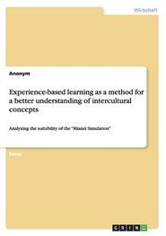 Experience-based learning as a method for a better understanding of intercultural concepts