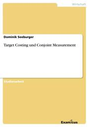 Target Costing und Conjoint Measurement